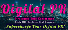 Digital PR Strategies Conference 2018