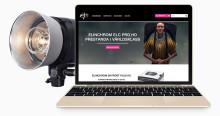 Sveriges största distrubitör av professionell fotoutrustning lanserar ny webbplats