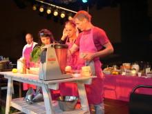Live-mat med kocken Rune Kalf-Hansen och Fia Gulliksson