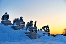 Winter in the Norwegian capital