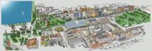 Tre nyheter i projektet för nytt stads- och stationshus