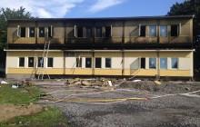 Paviljongbrand vid Gubbängsskolan minskar områdets skolkapacitet