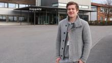 Andreas hade 8 veckors praktik på KappAhls huvudkontor