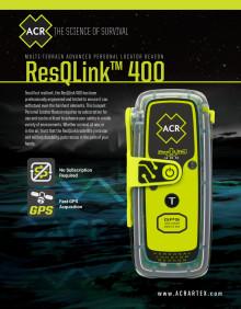 ACR Electronics ResQLink 400 PLB - Spec Sheet