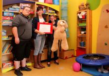 Sportlicher Einsatz für Bärenherz: Auszubildende des Klinikums St. Georg veranstalten Sponsorenlauf für das Kinderhospiz