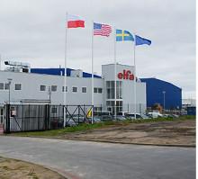Elfa har byggt ny fabrik i Koszalin, Polen