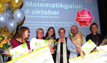 Sveriges bästa matematiklärare är utsedda