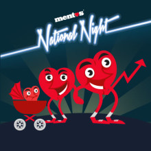 Mentos in search of 'National Night' babies  born on May 9th