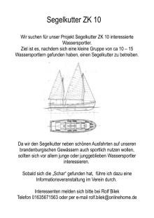 Neue maritime Möglichkeiten im Hochschulsport: Kutter-Segeln und Kutter-Rudern auf der Dahme