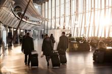 Fortsatt passagerarökning på Swedavias flygplatser