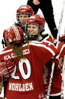 Sh bygg räddar damhockeyn