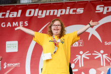 Nu är vi igång med Special Olympics-klassikern!