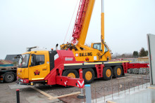 Ny 100 tons mobilkran till Malmö