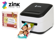 Zink hAppy Printer - Forvandle de digitale bildene dine til kule, selvklebende foto på et blunk!
