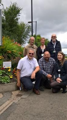 Green-fingered gardeners help Coseley station onto award shortlist