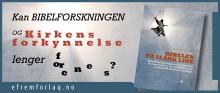 Bokutgivelse om kirkens nye dilemma! Paneldebatt med Dnk-biskop 'korona-utsatt'!
