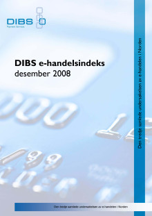 DIBS E-handelsindeks desember 2008