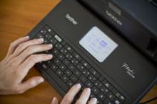 Ny labelprinter kommer med sit eget tastatur