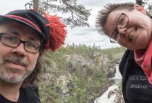 Lotta Stoor och Per Niila Stålka firar och hyllar FN:s internationella urfolksdag