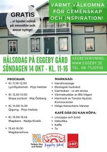 Hälsodag på Eggeby Gård