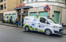 Ford představuje na veletrhu užitkových automobilů v Birminghamu novou Fiestu Van a zabudovaný modem FordPass Connect
