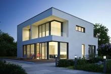Fönster med inbyggd värmeväxlare och ventilationssystem i karmen