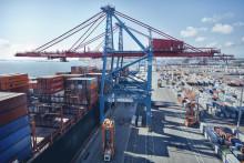 Största containertappet någonsin i Göteborgs Hamn