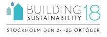 Träffa oss på Building Sustainability 18