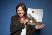 Artisten Caroline af Ugglas med i Diakonias julkampanj