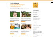 Die neue Website von baubiologie.de