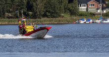 Ny räddningsbåt till SSRS i Strängnäs
