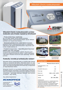 Mitsubishi Electric kosteudenpostin