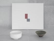 """""""En glipa i väven""""  – målningar av John Sundkvist i keramisk konstellation"""