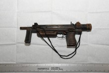 Three firearms recovered from land in Huyton