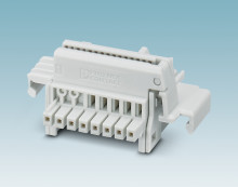 New bus connectors for electronics housings