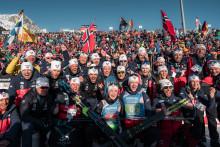 Nesten sju millioner nordmenn fulgte skiskytter-VM fra sofaen