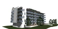 Små, kvadratsmarta bostadsrätter på Nissastrand i Halmstad