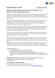 Många svenska företag riskerar böter eller fängelse vid tjänsteresa eller utlandsstationering