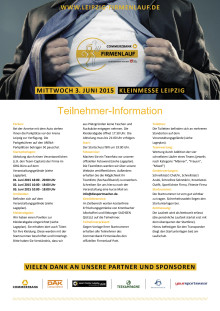 Teilnehmerinfo Firmenlauf 2015