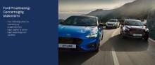 Privatlease Ford Focus fra 0 kr. i udbetaling