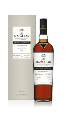 Rättelse gällande kvantitet - The MACALLAN Exceptional single cask lanseras idag