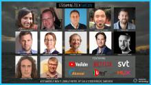 Biljetter till årets upplaga av Streaming Tech Sweden släpps på måndag