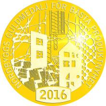 Dags att utse vinnaren av Nordbyggs guldmedalj 2016