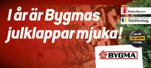 I år är Bygmas julklappar mjuka!