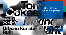 Einladung zur Pressevorbesichtigung: Mixing Plant von Tony Cokes