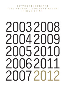 Jubileumsfolder ALMA 10 år