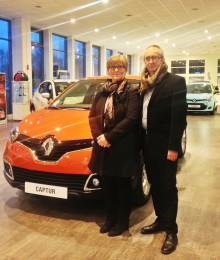 Vandt en Renault Captur i Ude og Hjemme