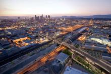 Skanska bygger nya Sixth Street Viaduct i Los Angeles, USA, för USD 134M, cirka 1,2 miljarder kronor