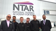 One year on for trailblazing rail apprentices