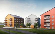 MKB Fastighets AB bygger trähus och minskar klimatpåverkan
